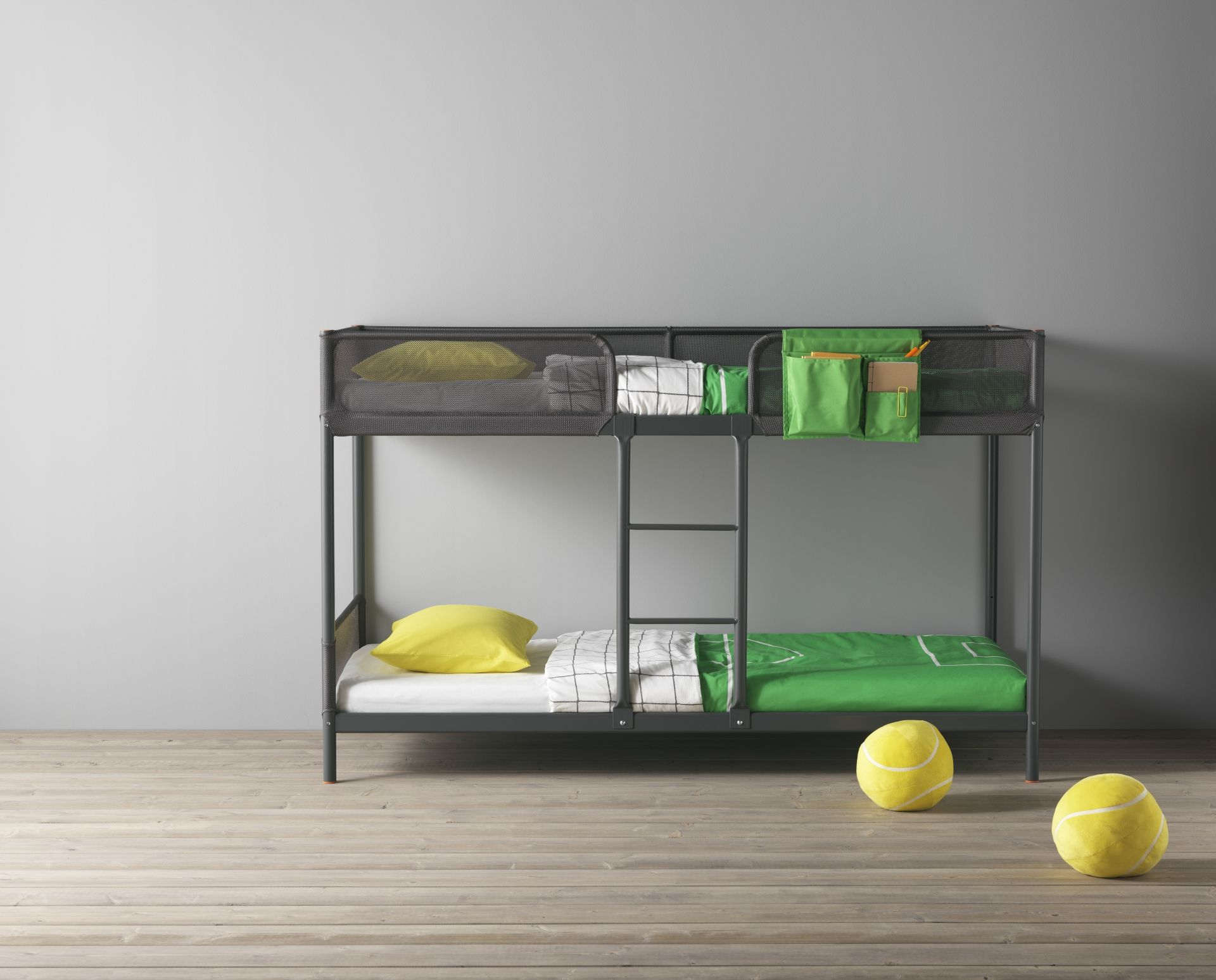 kids beds ikea tuffing frame stapelbed donkergrijs rooms 11482