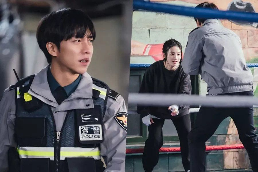 "Lee Seung Gi And Park Ju Hyun Face Off In The Ring In ""Mouse"""