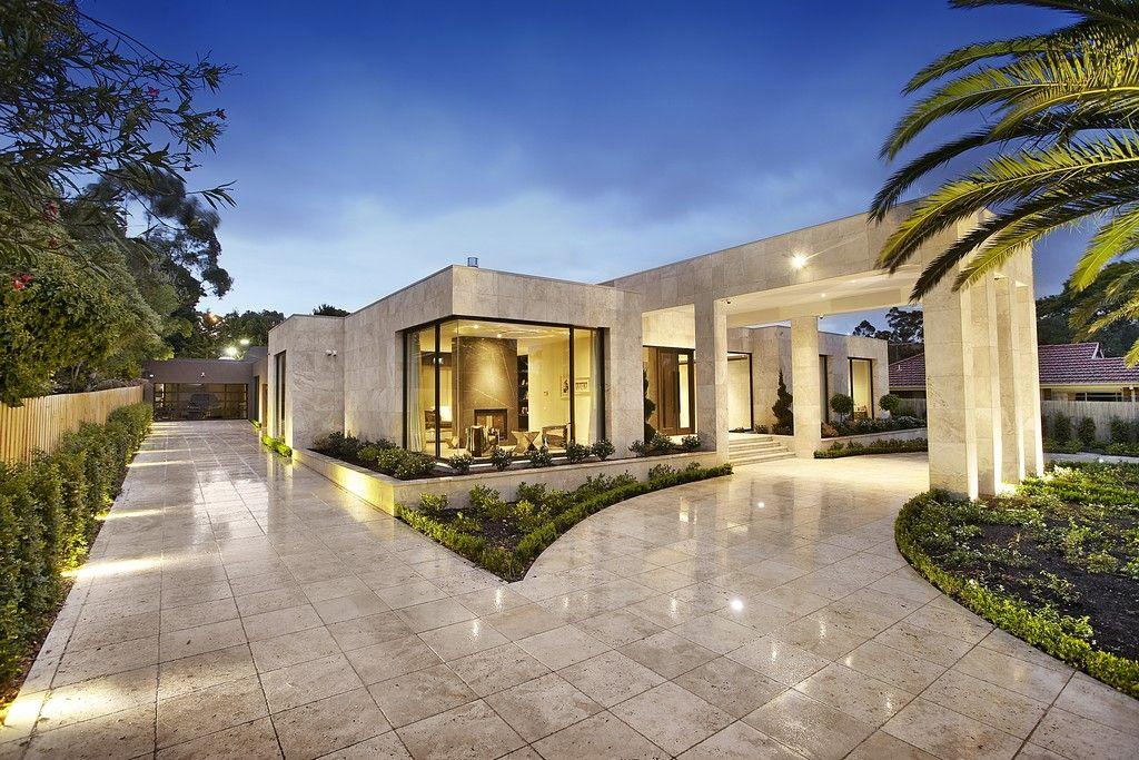 Bagnato Architects Designs | Borrell street Keilor | Portico ...