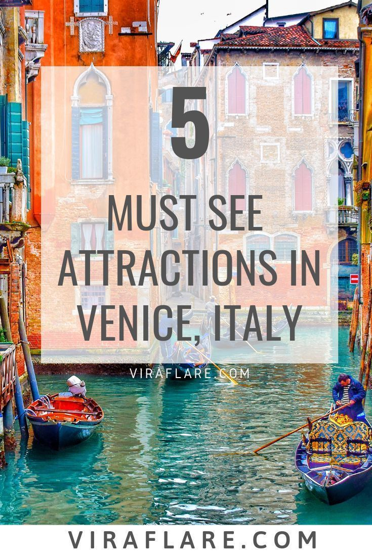 Photo of 5 Must See Attractions in Venice, Italy  #italy #venice #travel #destinations,  #Attractions …