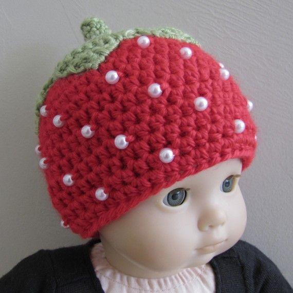 Strawberry pattern by sandsteeldesigns.etsy   Proyectos que intentar ...