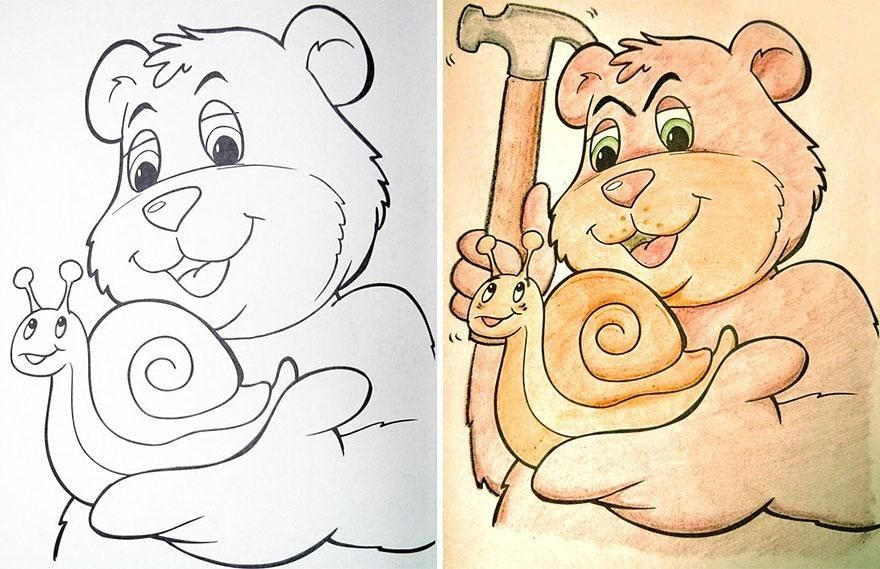 11 Utterly Twisted Colouring Book Corruptions Coloring Books Kids Coloring Books Corrupt Coloring Book