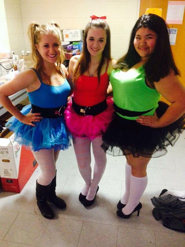 powerpuff girls tutu costume - Romy And Michelle Halloween Costumes