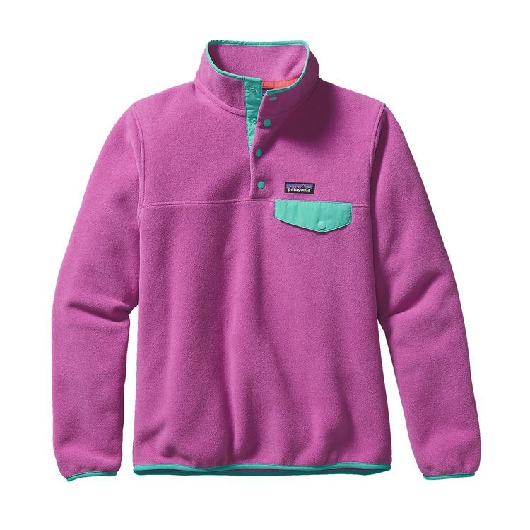 Women's Lightweight Synchilla® Snap-T® Fleece Pullover | Purple ...