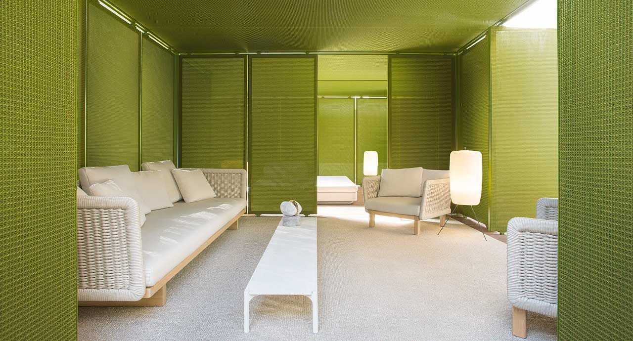 Cabanne Is A Modular Architectural System Composed By Modules ... Cabanne Gartenpavillon Paola Lenti Bestetti Associati