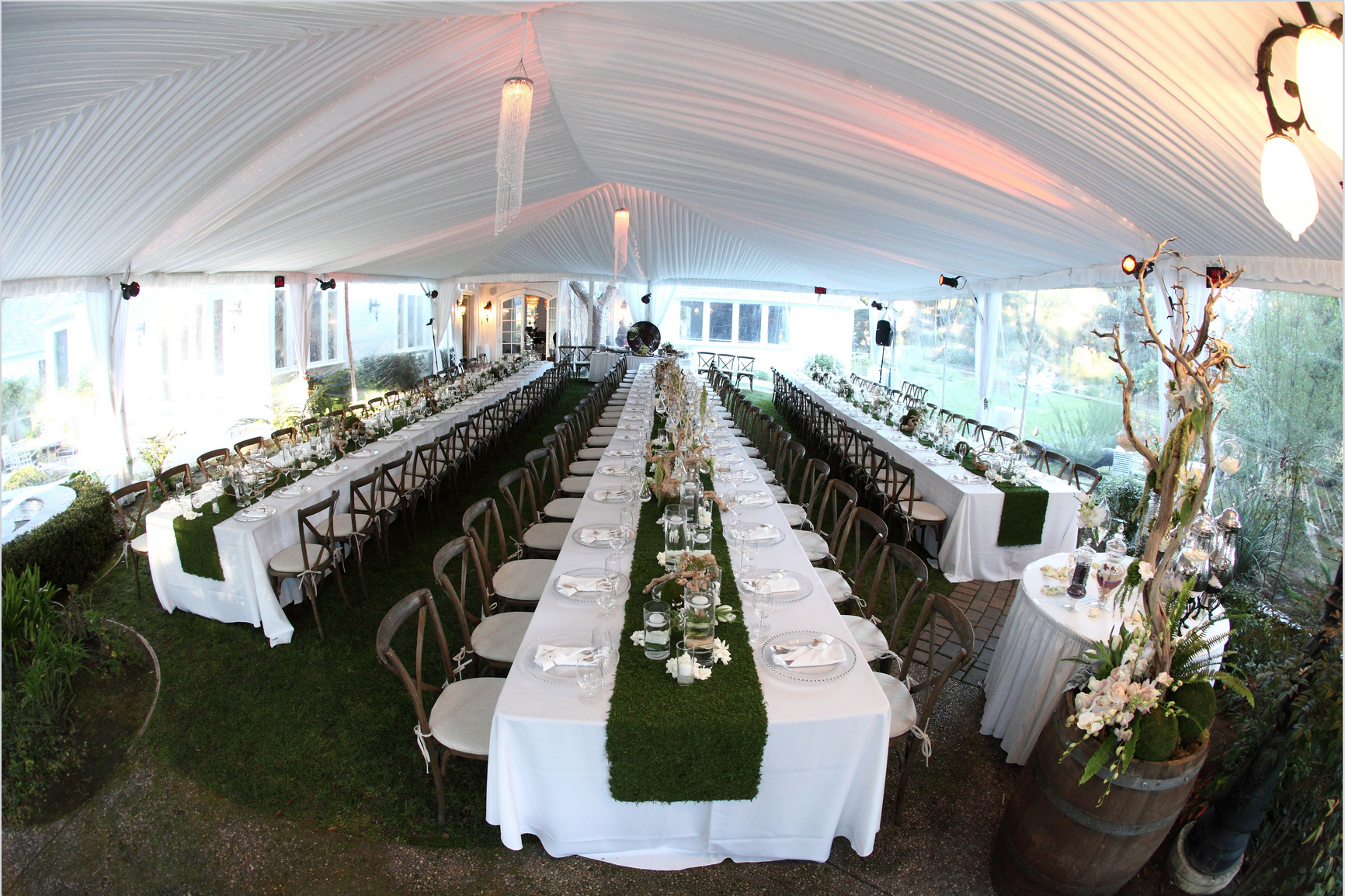 Engagement party- winery under tent