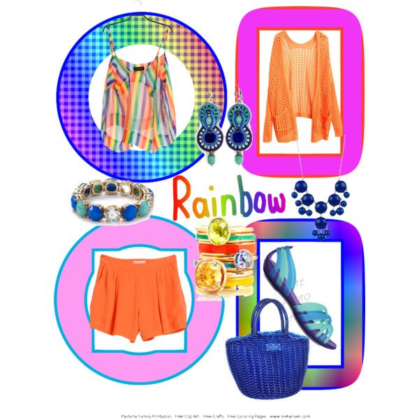 """""""Second color in the rainbow."""" by patmorr on Polyvore"""