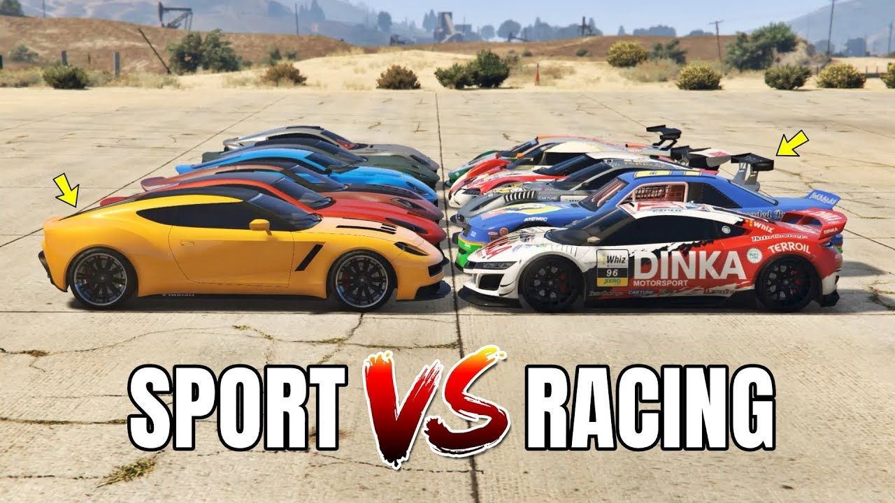 GTA 5 ONLINE SPORT CARS VS RACING CARS (WHICH IS FASTEST
