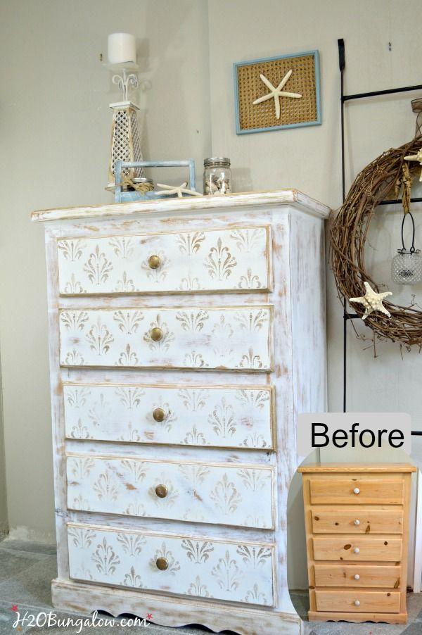 Diy Dresser Makeover Paint Bedroom Furniture