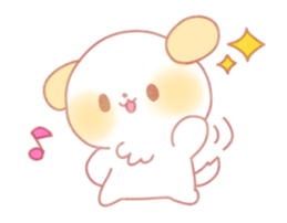 puppy emoji kawaii sparkle pmotes by jerikuto on deviantart