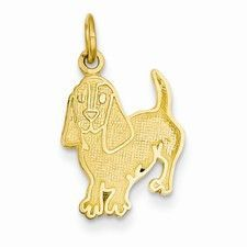 14k Yellow Gold Pig Charm XCH170