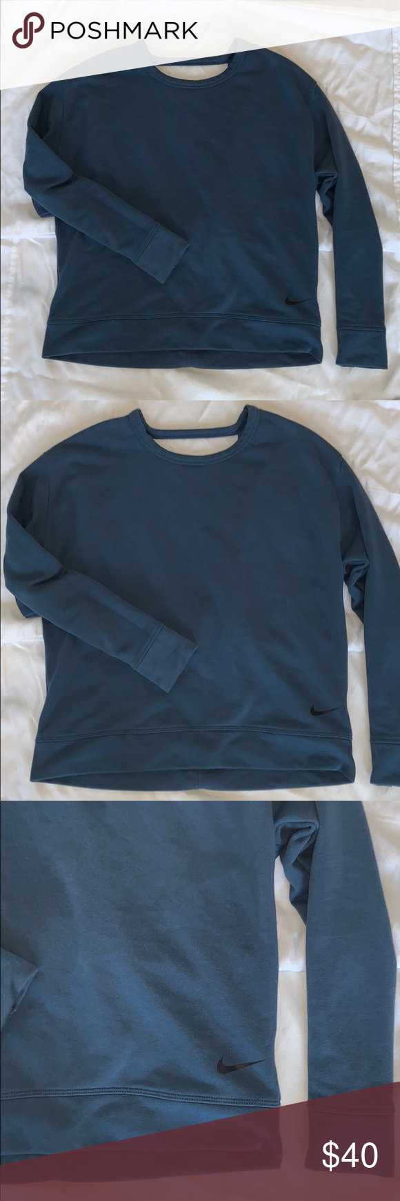 Nike Dri Fit Crewneck New In 2020 Clothes Design Nike Dri Fit Long Sleeve Tshirt Men [ 1740 x 580 Pixel ]