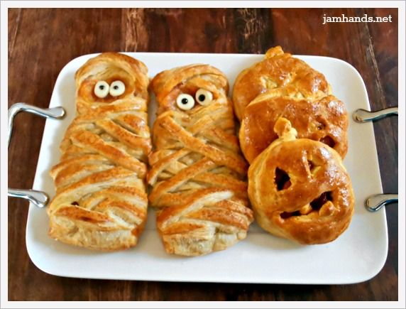 Halloweenie BBQ Cheese Pockets