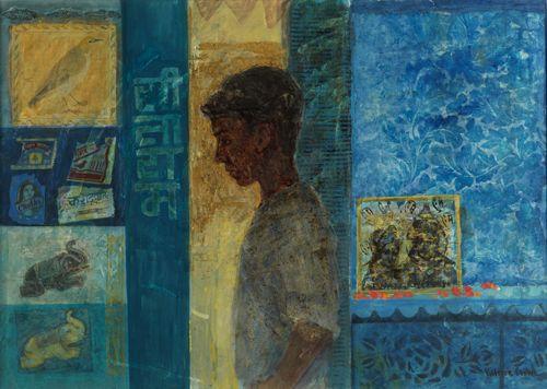Victoria Crowe: Market Boy and Blue Shrine