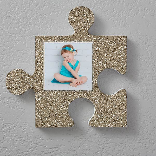 Personalized Photo Puzzle Piece Wall Decor Textures Wall Puzzle Puzzle Piece Art Puzzle Pieces