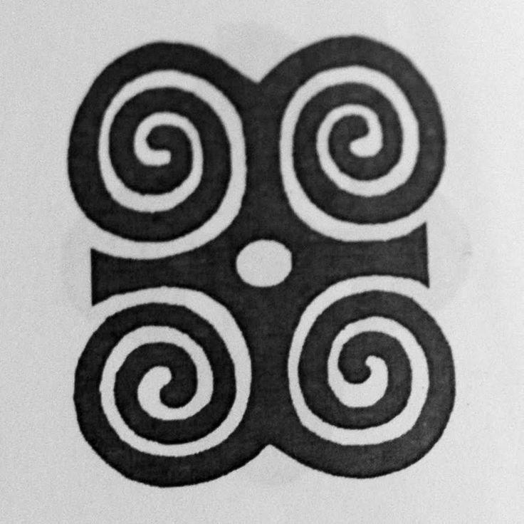 Dwennimmen Rams Horns Symbol Symbol Of Humility Together With