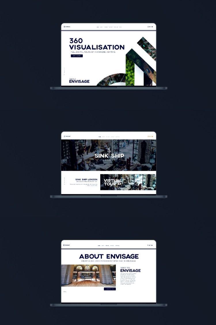 Envisage 360 In 2020 Web Design Web Development Design Website Design