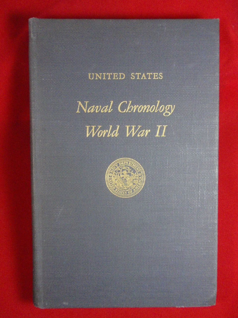 Book recording naval record of every us vessel of any