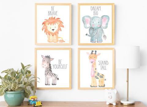 Safari Collection - Set of 4 - Prints images