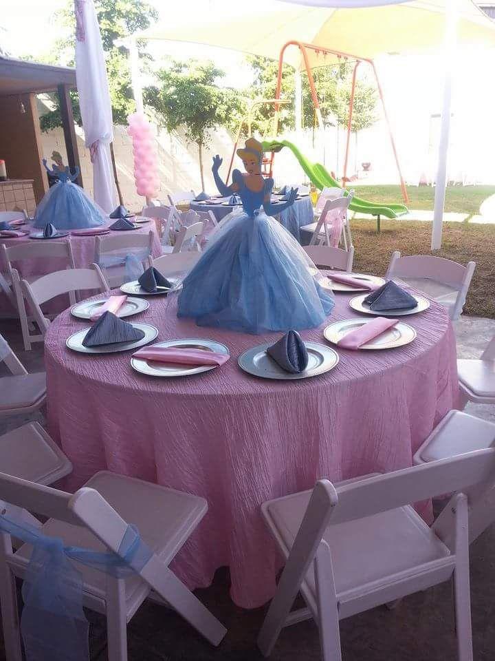 Cinderella Centerpiece Princess Cadey Birthday Pinterest