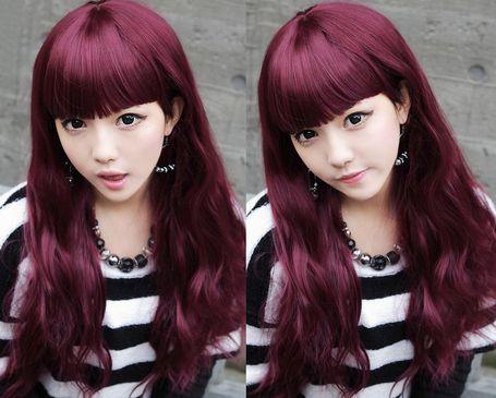 Rosso Colore dei capelli Viola  ca719f92b8d2