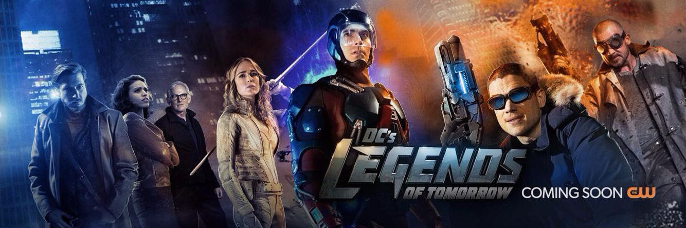 Legends Of Tomorrow Poster Banner Dc Legends Of Tomorrow
