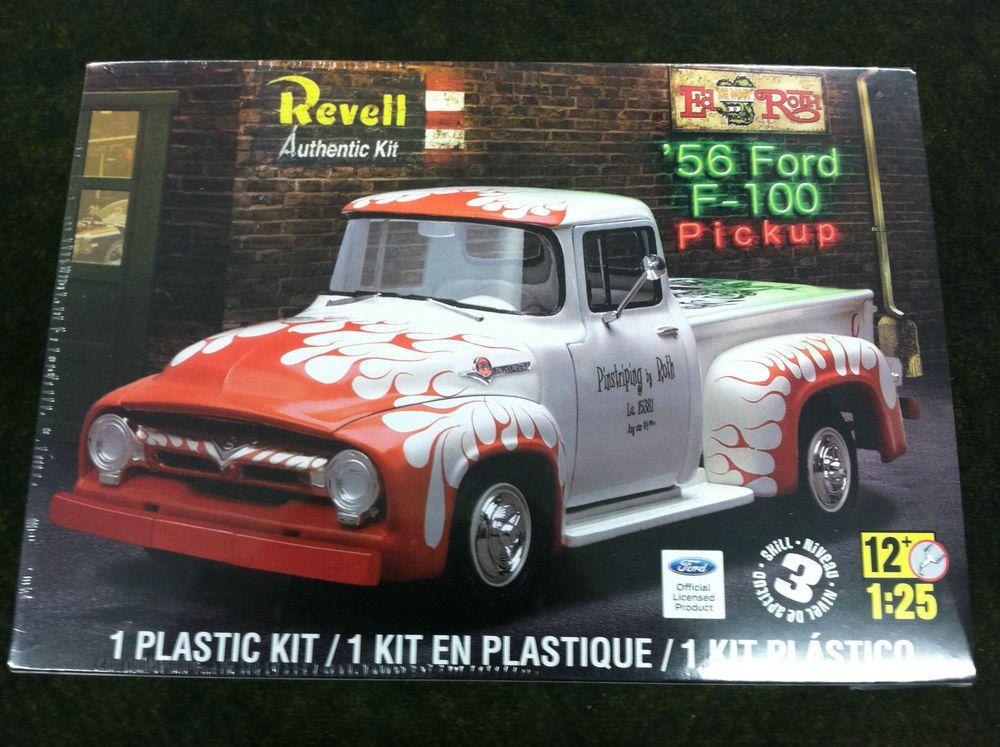 Revell  Ford F  Pickup Plastic Model Truck Kit   Revell