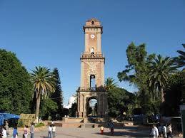 Tecozautla,Hidalgo. monumento(reloj) construido en 1904