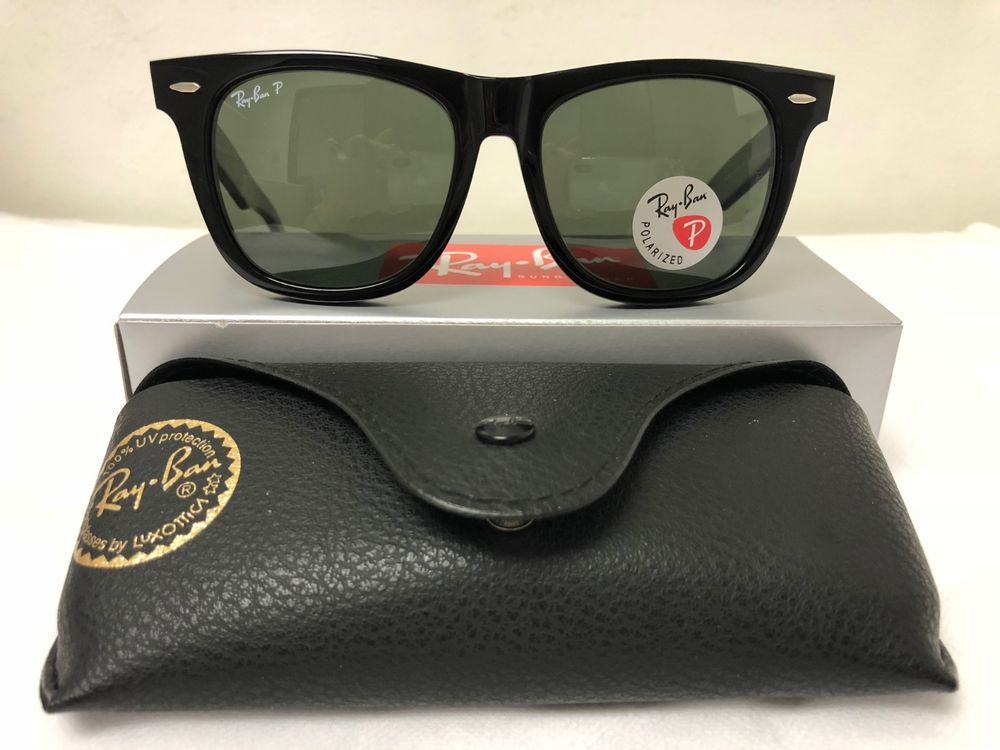 Ray-Ban Polarized Large Original Wayfarer for Men RB2140 901