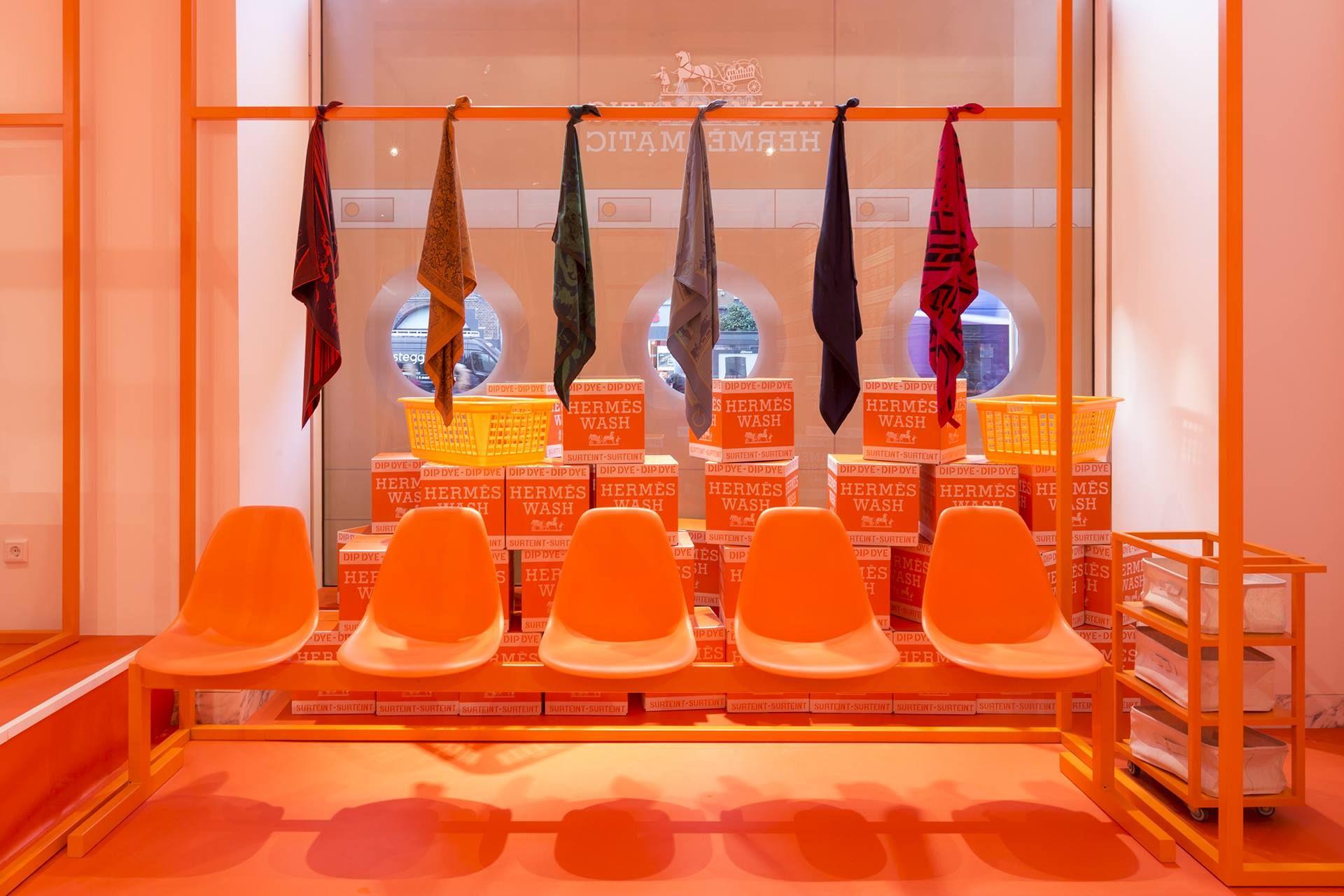 Hermès's Pop-Up Store Hermèsmatic