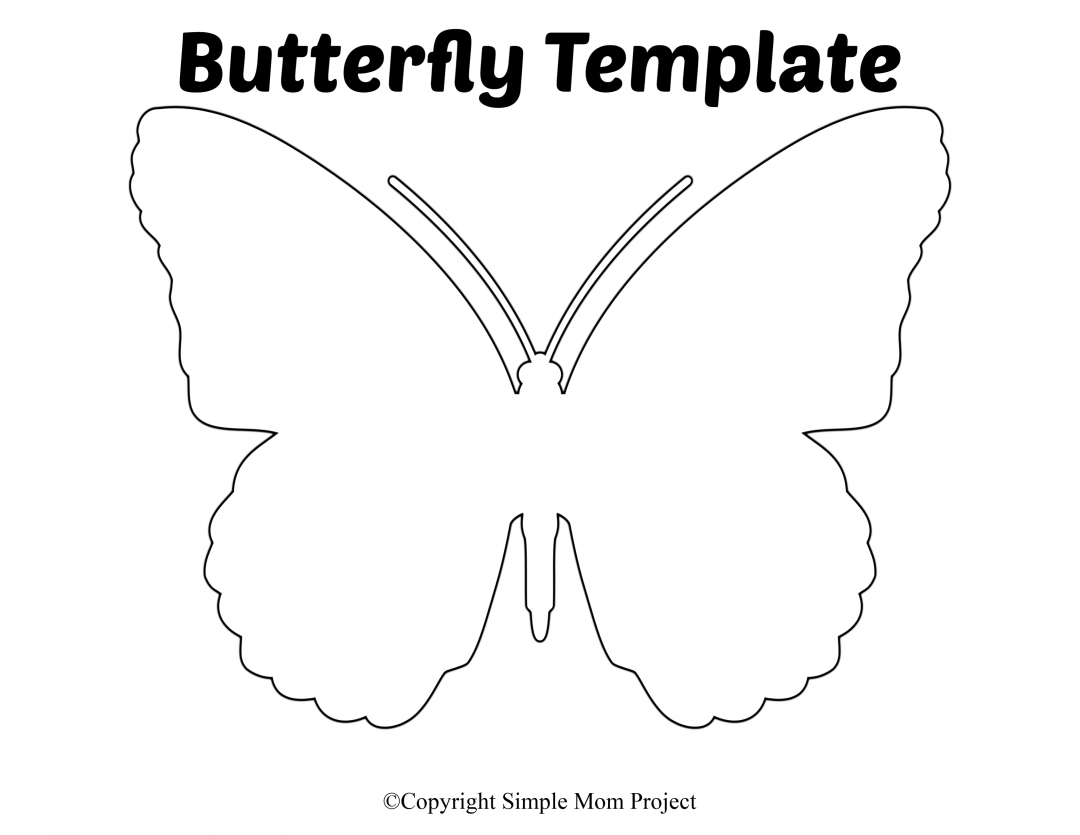 Free Printable Butterfly Templates With Images