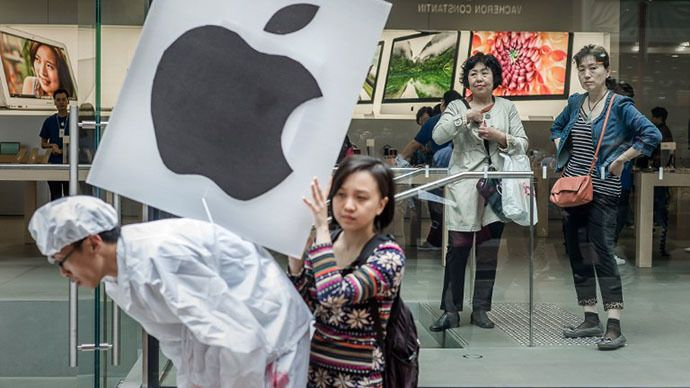 Apple accused of using Chinese child labor to assemble
