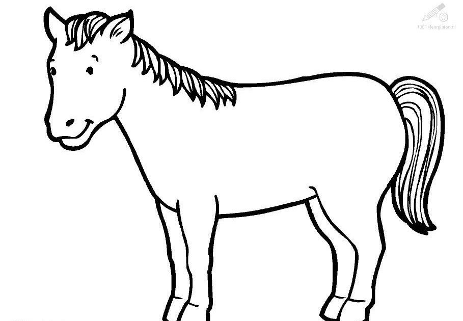 Coloring Horse Clipart in 2020 | Horse coloring pages ...
