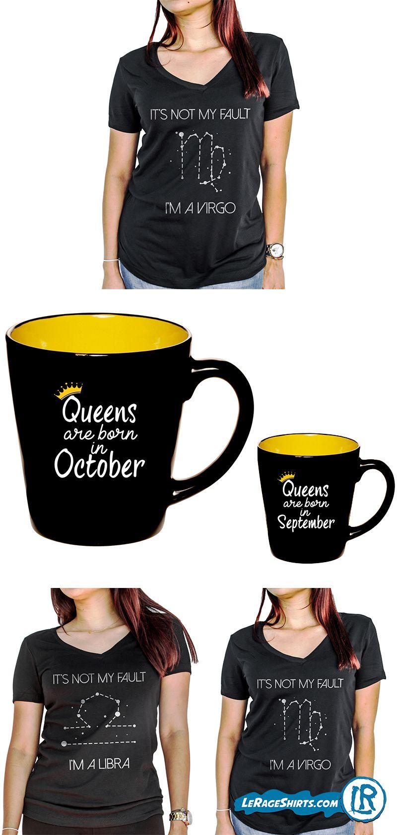 Horoscope Zodiac Star Sign Astrology Birthday Gifts Shirts Mugs