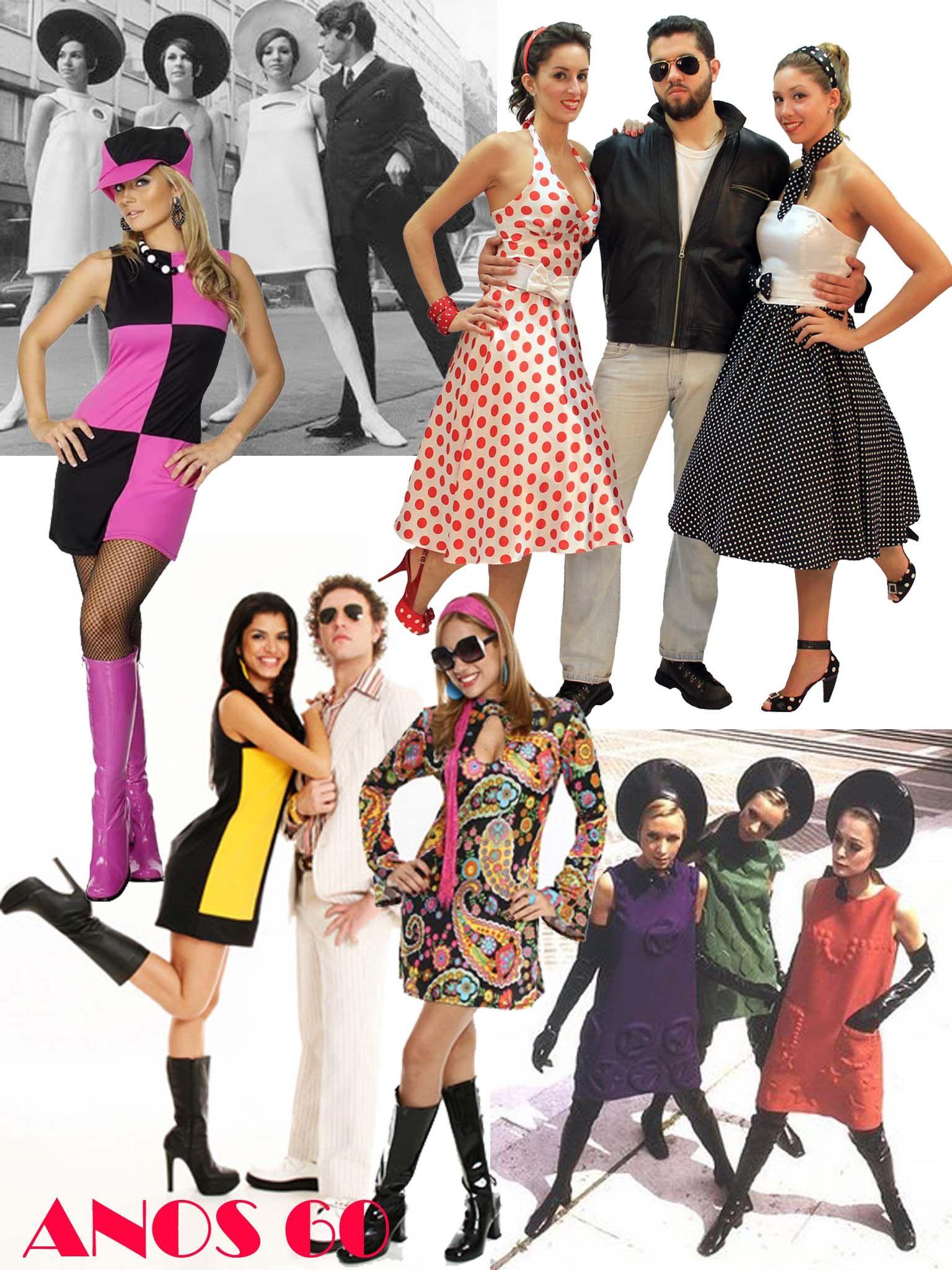 9b93228ee98 Franci Halat - MODA  Moda Anos 60 - Clássico que nunca sai de moda ...