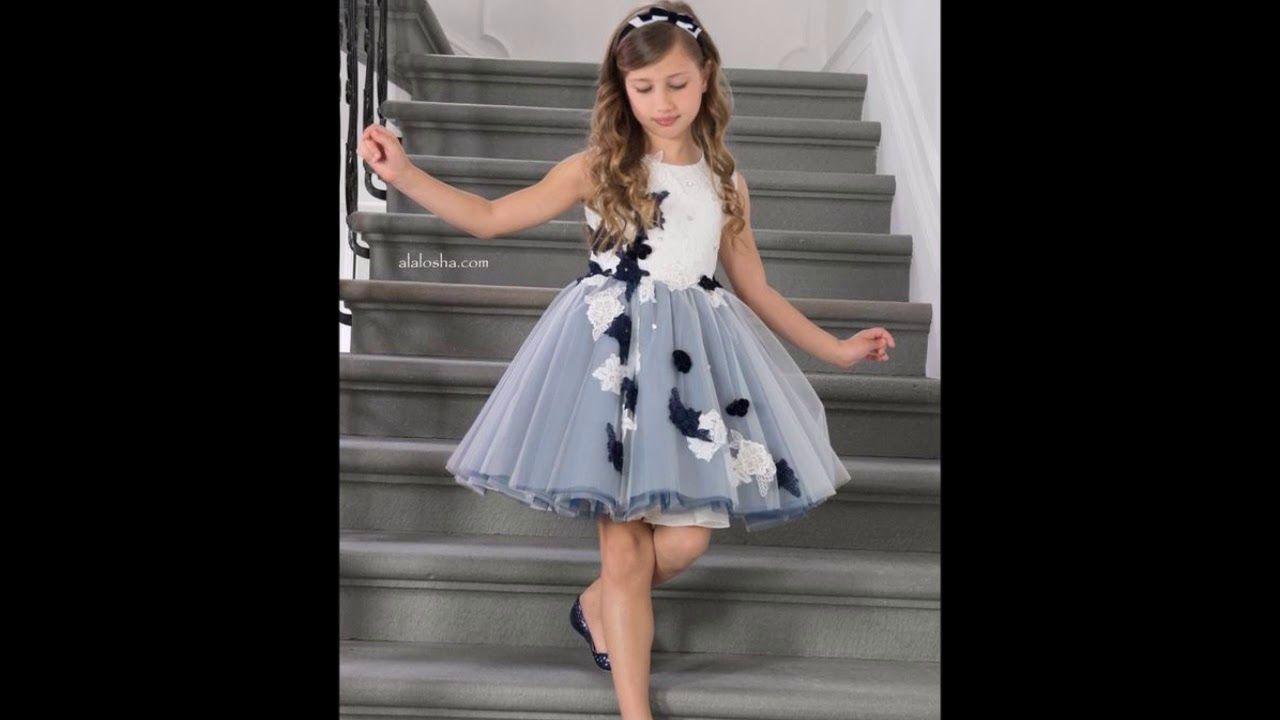 Vestidos Fiesta De Alta Costura Para Niñas Para Admirar