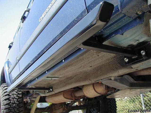Diy Nerf Bars Jeep Jeep Zj Jeep Wj Off Road Bumpers