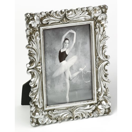 Lyndon Picture Frame Charlton Home Colour Silver Size 15 X 10cm Picture Frame Decor White Picture Frames 7x5 Photo Frame