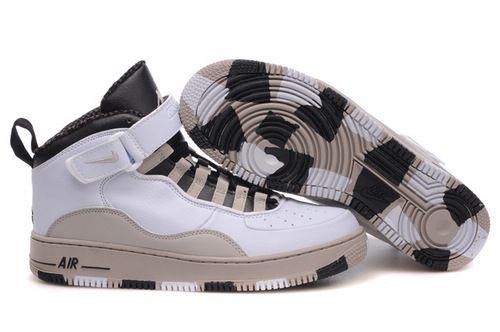 $99.97 Men's Nike Air Jordan 10 & Airforce 1 Shoes White/Black/Cream