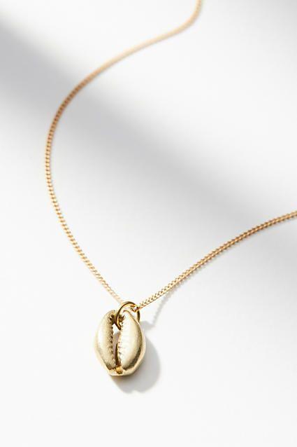 Lena Bernard Delicate Shell Necklace  f3b61f5034875