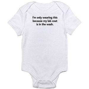 Cafepress Scientist Newborn Baby Bodysuit