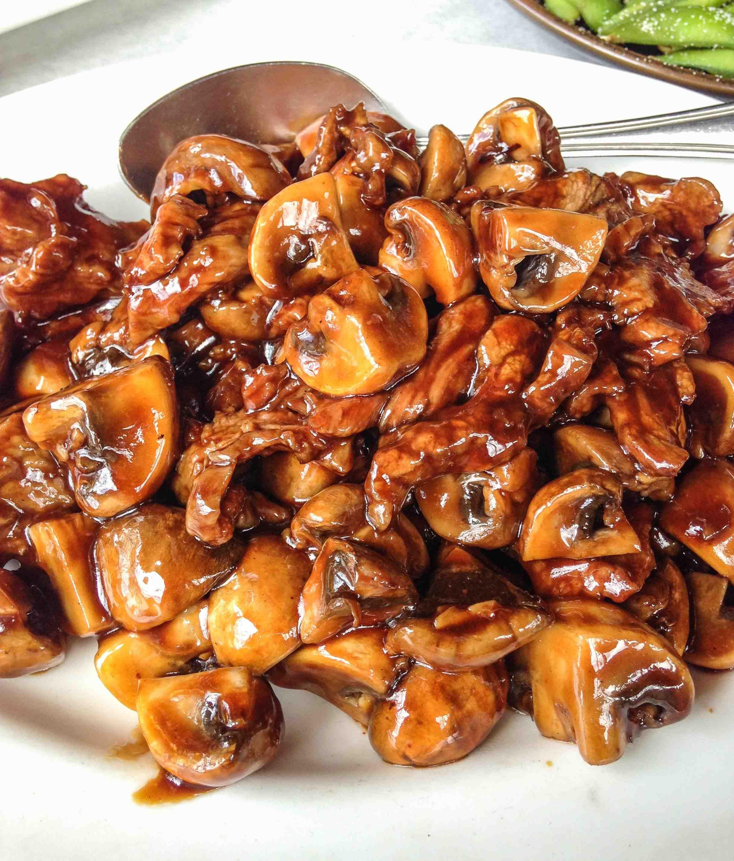 Teriyaki Beef With Mushrooms Delicious Beef Recipe Beef With Mushroom Beef Recipes