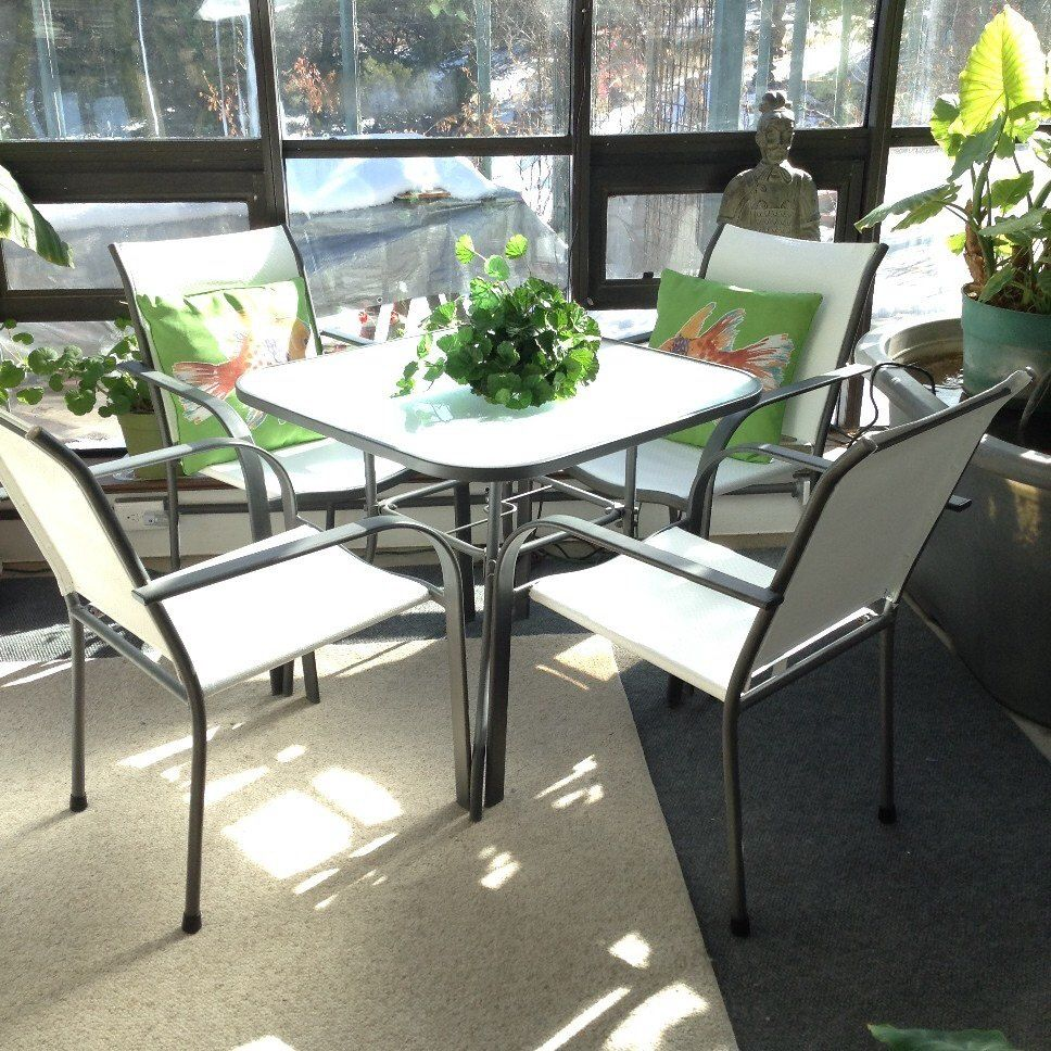 How To Paint Mesh Patio Chairs That Have Faded Hometalk Outdoor