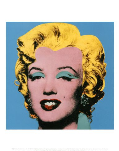 Shot Blue Marilyn 1964 Warhol Art Andy Warhol Marilyn Andy Warhol Art