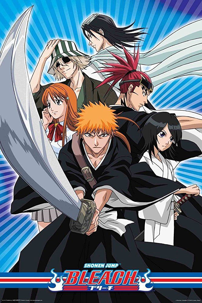 Bleach Cartoon posters, Bleach episodes, Bleach anime