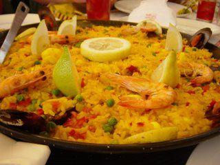 Paella De Marisco Receta De Cocina Receta Paella De Mariscos Mariscos Recetas De Cocina