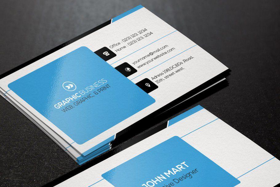Creative Business Card V 16 Business Cards Creative Business Card Template Business Cards