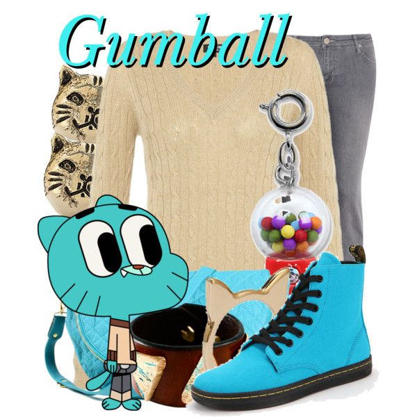 Gumball Watterson From The Amazing World Of Gumball
