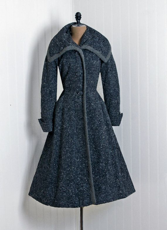 1940's | fashion warm up. | Pinterest | Beautiful, Wool and Grey
