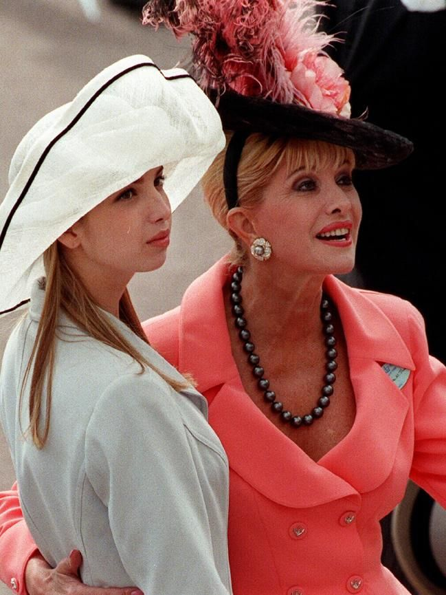 Ivanka With Her Mother Ivana Trump At Royal Ascot In London Description From News Com Au I Searched For This On Bing Com Images